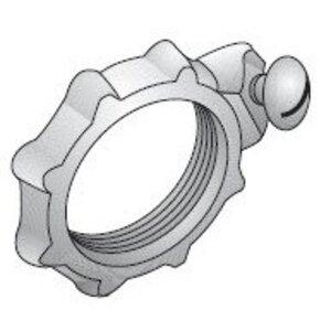 "Appleton GL-1000-D Grounding Locknut, 4"", Steel/Zinc"