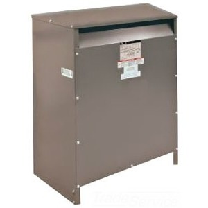Square D 27T144HDIT Transformer, Dry Type, Drive Isolation, 27KVA, 460 Delta - 230Y/133VAC