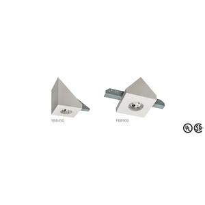 "Arlington FBB900 8"" Square Fan/Fixture Box, 80° Cathedral Ceiling, Non-Metallic"