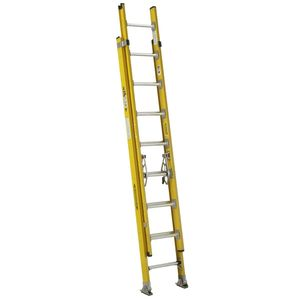 Werner Ladder D7116-2 16Ft Type Iaa Fiberglass D-Rung Extension Ladder