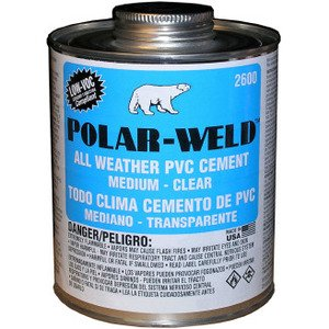 Morris Products G2636S All Weather Cement - Clear, 1-Quart