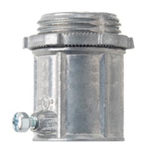 """Cooper Crouse-Hinds 460DC EMT Set Screw Coupling, 1/2"""", Zinc Die Cast"""