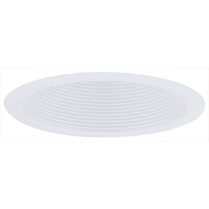 "Elco Lighting ELM500W Baffle Trim, 5"" Airtight Metal Cone, White"