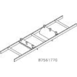 nVent Hoffman LRD12G Ladder Rack, Radius Drop
