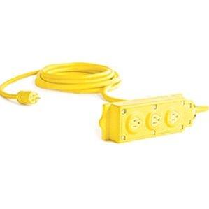 Woodhead 31593 Multi-tap Box 15a-125v Ul/csa