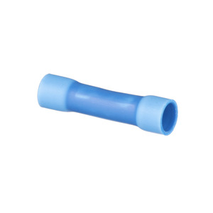 Panduit BSV14X-L Butt Connector, Vinyl Insulated, 16 - 14 AWG, Blue, Pack of 50
