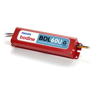 Bodine BDL60U Emergency Ballast, Fluorescent, 2-Lamp