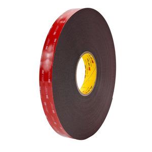 "3M 5952(3/4X36YD) General Purpose Bonding Tape, 3/4"" x 36 Yd, Black"