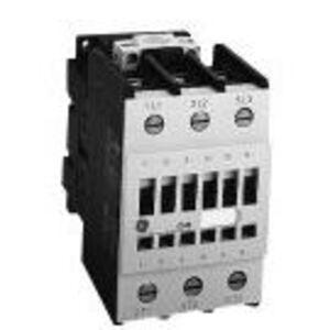 GE CL01A310T1 Contactor, IEC, 13.8A, 460V, 3P, 24VAC Coil, 1NO Auxiliary
