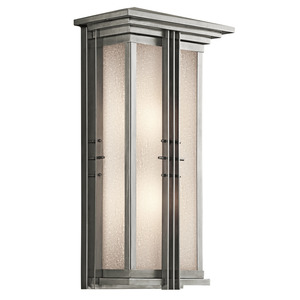 Kichler 49160SS OUTDOOR LANTERN 2LT *** Discontinued ***