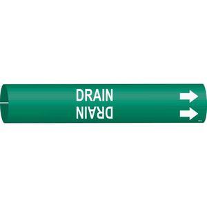 4055-A 4055-A DRAIN GRN/WHT STY A