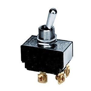 Hubbell-Wiring Kellems HBL21SP PANEL SW, DPST, SPADE