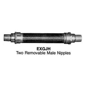 "Appleton EXGJH-224 Flexible Coupling, 3/4"" x 24"" Long, Explosionproof"