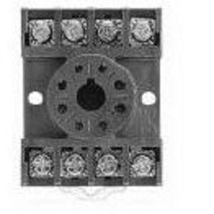 Allen-Bradley 700-HN125 Socket, 8-Pin, Tube Base, Open Screw Terminals, No Clip