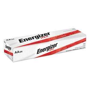 Energizer E91 Industrial Alkaline Battery, AA Size, 1.5 Volt