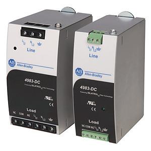 Allen-Bradley 4983-DC120-05 Filter, Surge Protective Device, 120VAC, 5A, DIN Rail Mount