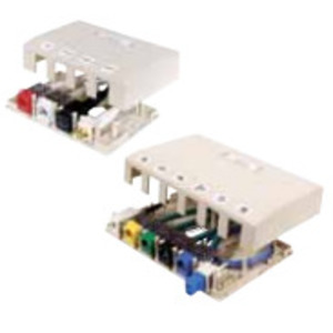 Hubbell-Premise ISB4OW HOUSING, SURFACE MOUNT,4 PORT,OW