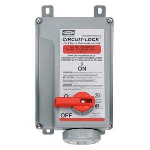 Hubbell-Wiring Kellems HBL530MI7W PS, IEC, MECHINT, 4P5W, 30A 277/480V,W/T