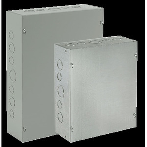 nVent Hoffman ASG6X6X6 Pull Box, NEMA 1, Screw Cover, 6 x 6 x 6""