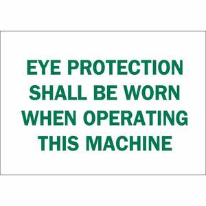 25592 EYE PROTECTION SIGN