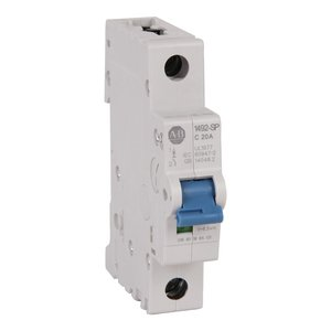 Allen-Bradley 1492-SPM1C100 Circuit Breaker, Miniature, 10A, 1P, Supplementary, Trip C