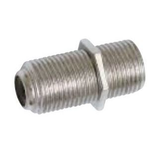 Quest CFS-0181 F-Connector, Coax In-Line Coupler, F-81, Female to Female