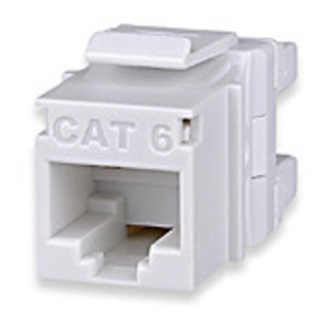Signamax KJ458MT-C6C-WH Snap-In Connector, Category 6, 8P8C, White