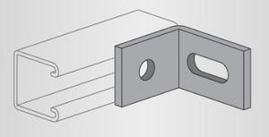 Power-Strut PS2520-EG 2 Hole Adjustment Angle