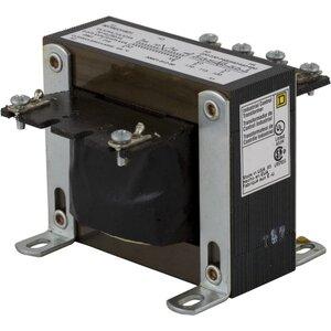 Square D 9070EO18D1 Transformer, Control, 75VA, 240 x 480 - 120VAC, Open, 1PH