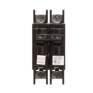 Siemens BQ2B015QLD Breaker 15a 2p 120/240v 10k Bqxd Dinrail