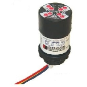 Grace Technologies R-3W-KB Voltage Indicator, Flashing LED's, Bezel, 40-750VAC, 30-1000VDC