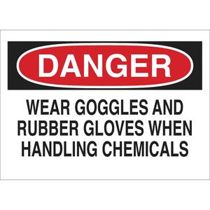 22350 CHEMICAL & HAZD MATERIALS SIGN