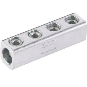 Panduit SR-0-XY Splicer/Reducer, Aluminum, Dual Rated, #