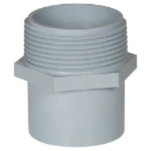 Carlon E920F PVC Conduit Repair, Male Adapter, 1""