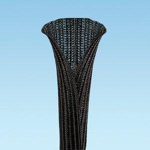 "Panduit SE150PSFR-LQR0 Pan-Wrap Braided Sleeving, 1.50"" Dia., 7"