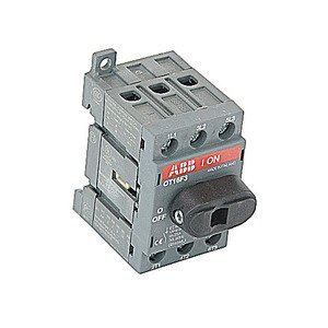 Thomas & Betts OT16F3/B50 ABB OT16F3/B50 3P NF SW 16A UL508,