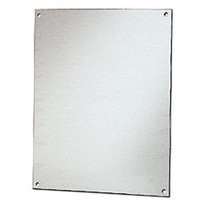 "Stahlin BP1614AL Panel For Enclosure, 16"" x 14"", Diamond Shield Series, Aluminum"