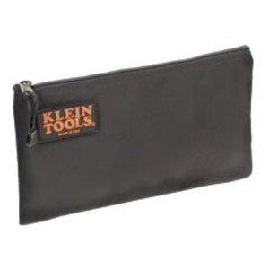 Klein 5139B Zipper Bag, Cordura Nylon Tool Pouch, 12-1/2-Inch