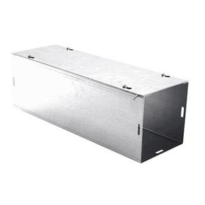 """E-Box 2-66SW Wireway, Type 1, Screw Cover, 6"""" x 6"""" x 24"""", Steel, Galvanized, No KOs"""