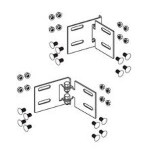 "Cooper B-Line 9A-1036W/SS6 Horizontal Adjustable Splice Plates, for 6"" High Cable Tray, Stainless Steel"