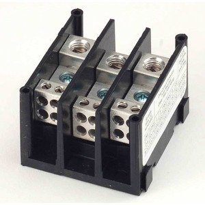 Marathon Special Products 1413400 Distribution Block, 3-Pole, 115A, 600V