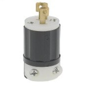 Leviton ML1-P Locking Plug, 15A, 125 V, 2P2W