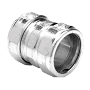 "Bridgeport Fittings 3101-US Compression Coupling, 3"", Steel/Zinc"