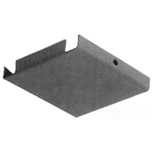 "Unity 66E Wireway Closure Plate, 6"" x 6"", Type 1, Gray, No KOs"
