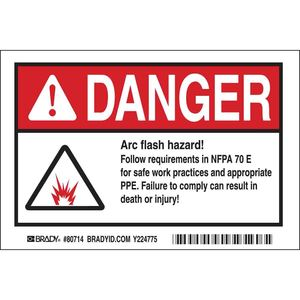 EL-4 ARC FLASH DANGER