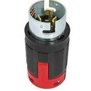 Eaton Wiring Devices CS6365EX PLUG 50A 125/250V 3P4W H/L NYLON BK