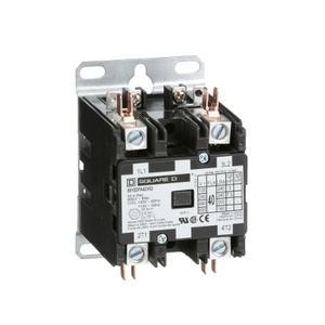 8910DPA22V02 DP CONT  25A 2P 120V COIL
