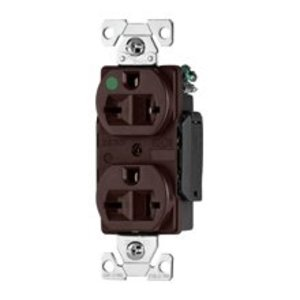 Eaton Wiring Devices 8410V Recp HG Sgl 20A 250V 2P3W Str B/Swire IV