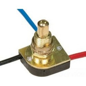 Satco 80-1131 NKL FINISH 3 WAY PUSH SWITCH 5