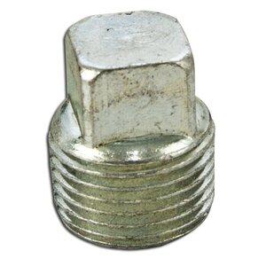 """Appleton PLG-50S Close-Up Plug, Square Head, 1/2"""", Explosionproof, Steel"""